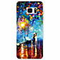 The New ink Landscape Painting Pattern TPU Soft Case Phone Case For Samsung Galaxy S5/S6/S7/S7 edge