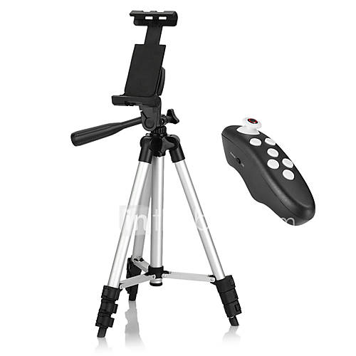 Smartphone Tripod with Bluetooth Remote